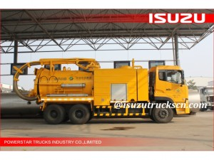 Combined Sewer Jetting Vacuum Truck