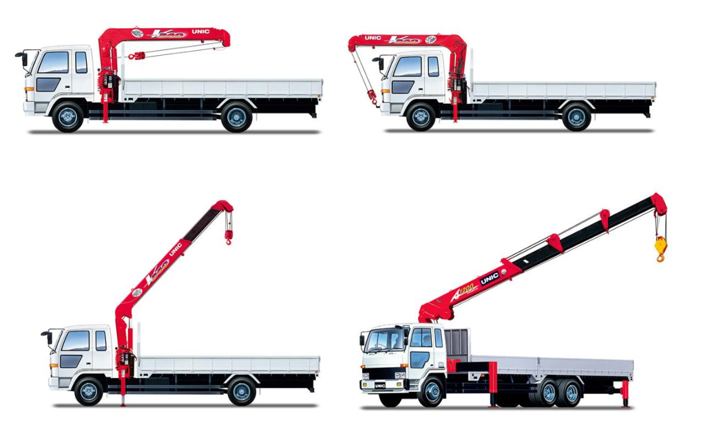 2.1ton Isuzu Transportation Lorry Mounted Crane