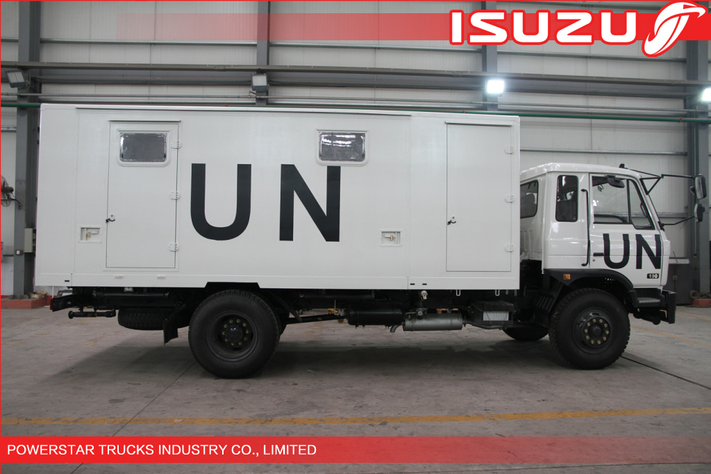 Quality 6wheels Mobile Workshop for UN emergency