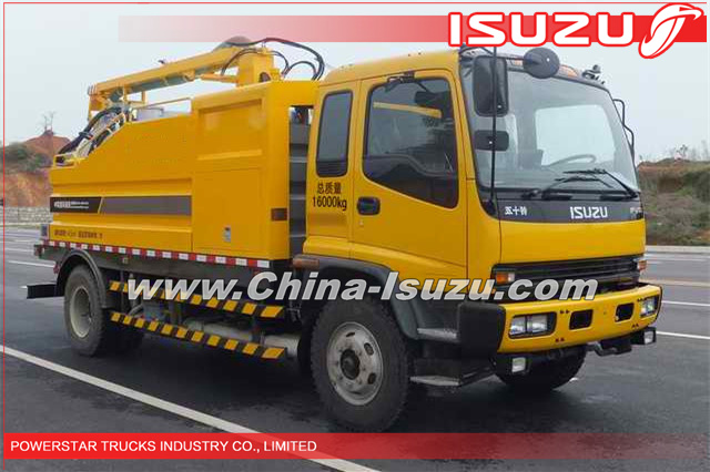 10,000L Nigeria Isuzu High pressure industrial cleaning Vehicle