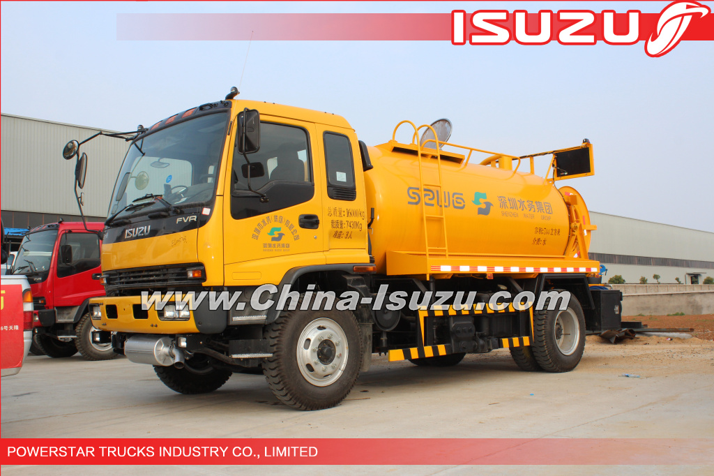 14,000L Angola HIGH-PRESSURE CLEANER, SEWER FLUSHING TRUCK