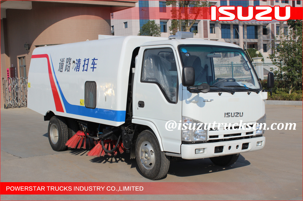 brnad new ISUZU NKR 3cbm-5cbm Isuzu Road Sweeping Vehicle