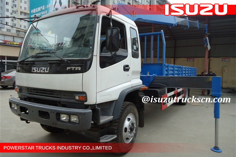 6.3Ton 4*2 Isuzu Chassis with Articulated Boom Crane