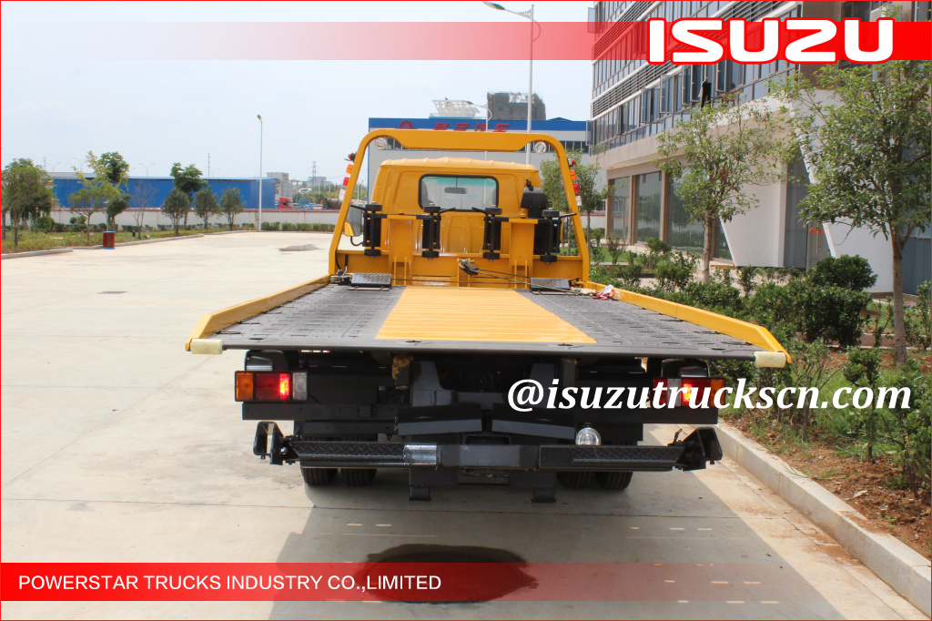 3Tons Isuzu Road Wrecker Truck Emergency Rescue Vehicle