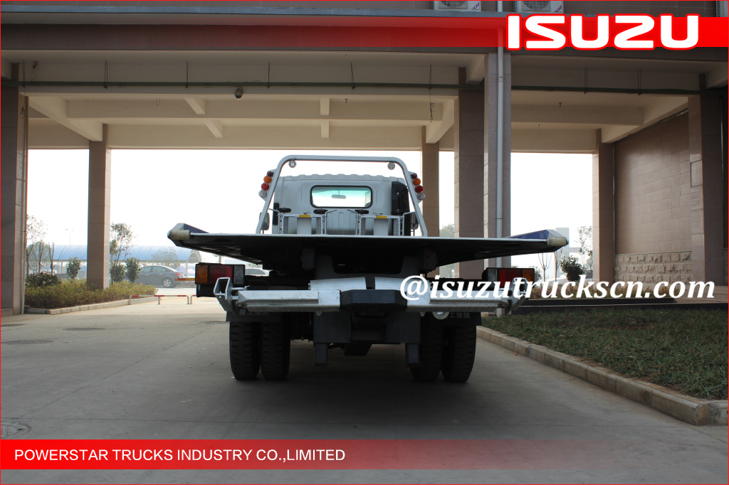 5Tons Isuzu Flatbed Tow Road Wrecker Flatbed Carriers
