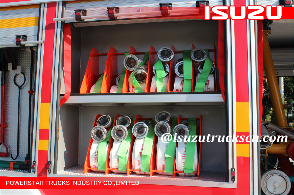 4x2 5000L Single cabin Water Foam Fire Truck Isuzu