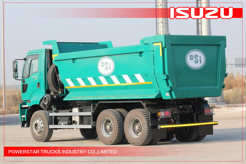 25tons VC46 ISUZU heavy tipper trucks