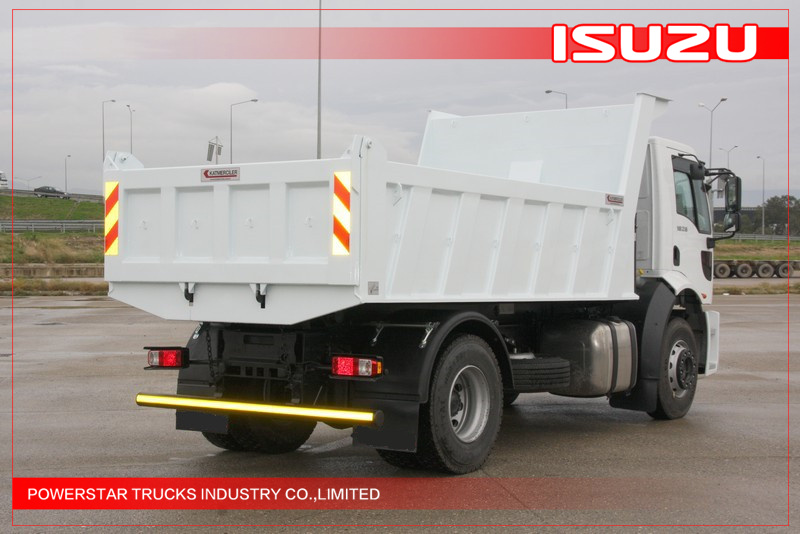 25Tons ISUZU VC46 heavy duty Tipper truck Dumpers