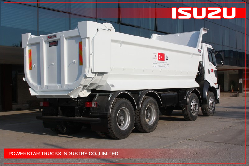 25TonS VC46 ISUZU Heavy Tipper trucks for sale