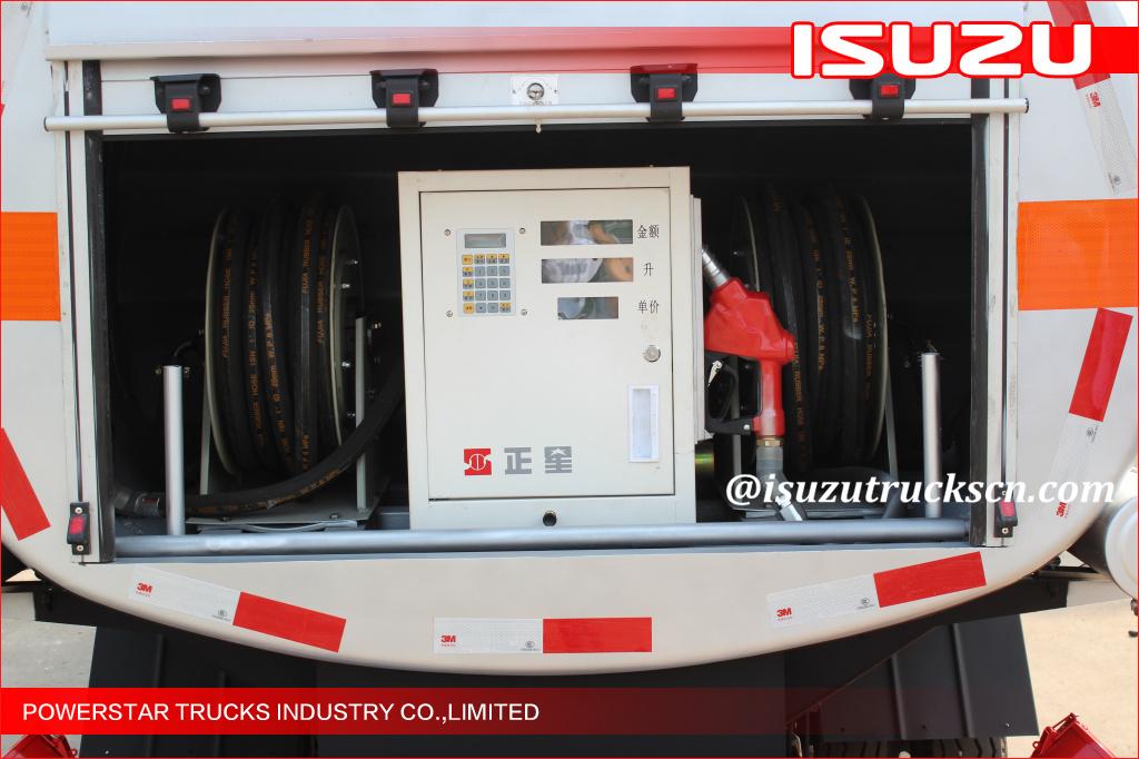 5000L Isuzu NKR55 600P Fuel Oil Tanker trucks diesel tank truck