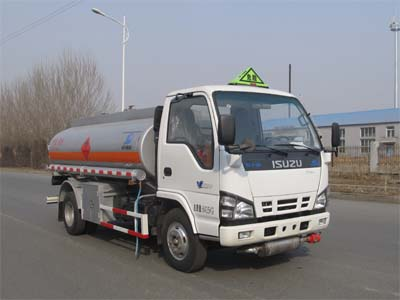 Isuzu 5000 liters fuel tank truck, different oil tank truck model, fuel tanker vehicle