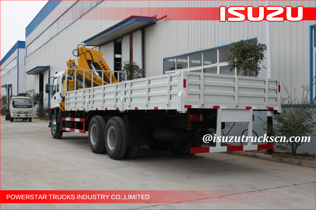 12TON ISUZU Lorry mounted crane
