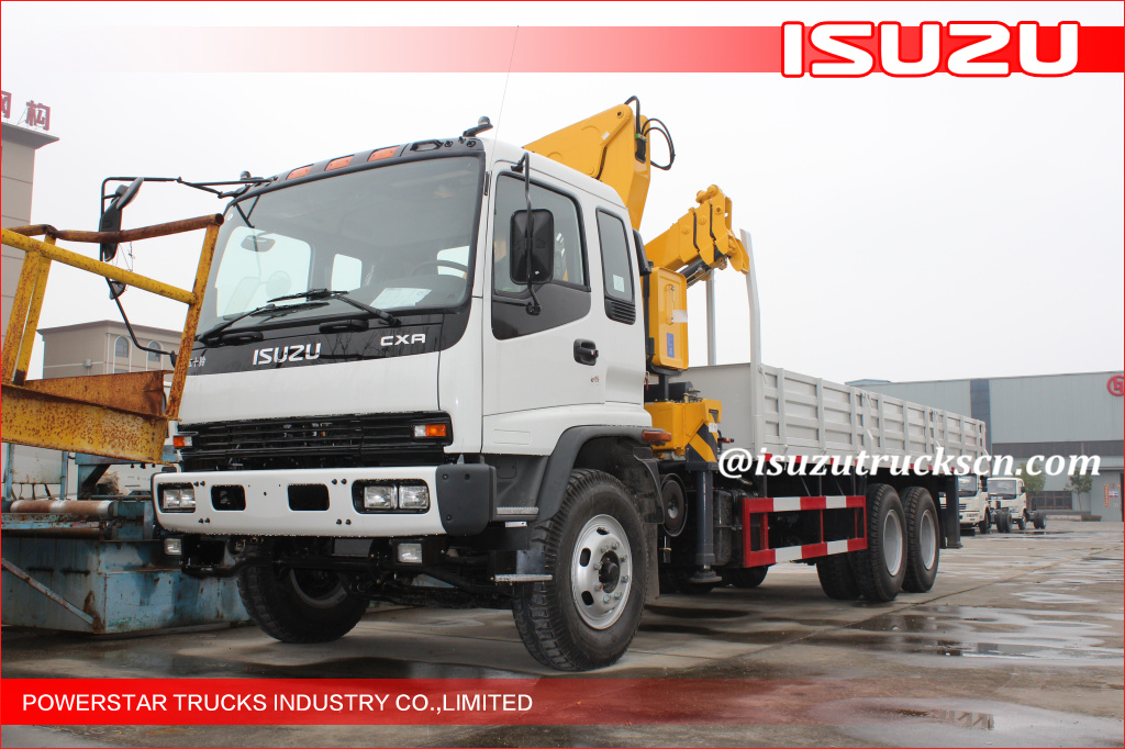 Isuzu NKR Telescopic Truck Mounted Crane ISUZU Truck With Crane