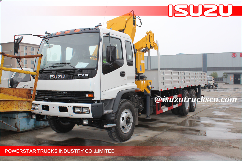 4T Lorry-Mounted Crane Isuzu ELF chassis