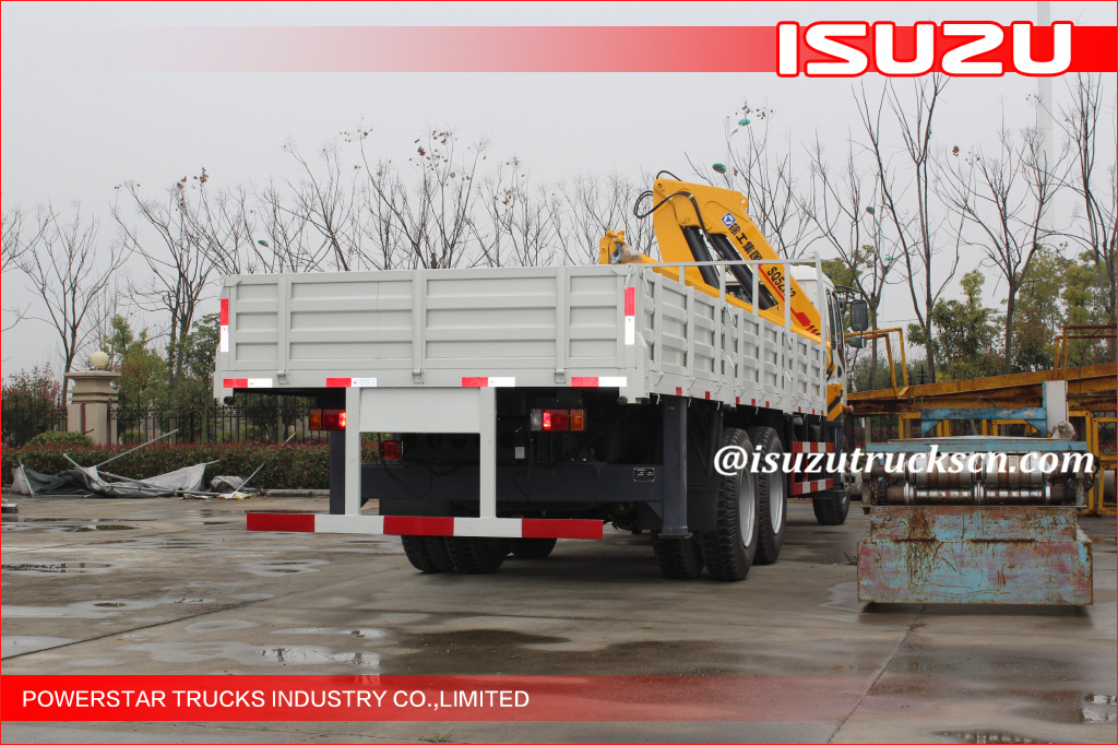 12 Ton Cargo Truck Mounted Crane with Isuzu chassis
