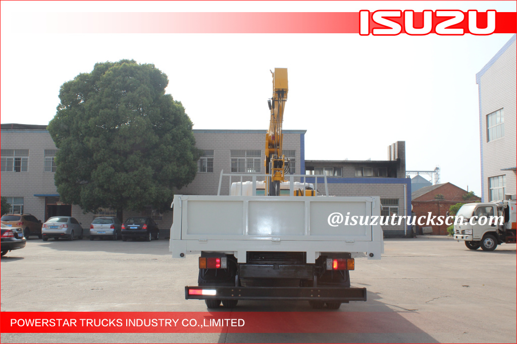 5 Ton Lorry-Mounted Crane with ELF ISUZU Chassis