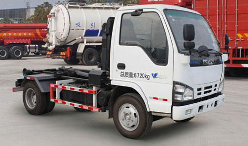 Isuzu Detachable container garbage truck