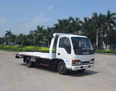 Large factory supply small light duty NKR77 ISUZU wrecker truck for sale