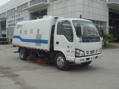 5CBM ISUZU Street Road Sweeping Vehicle