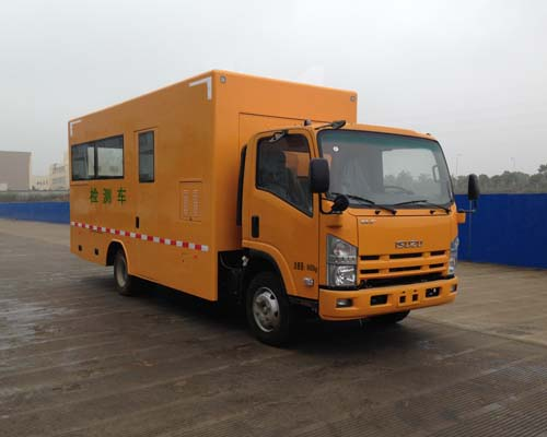 Isuzu Multifunction Inspection Trucks NKR77 4*2 120HP Engine Maintenance Vehicles For Sales