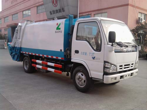 3ton 5ton Isuzu Compressed waste Garbage Compactor Truck For Sale