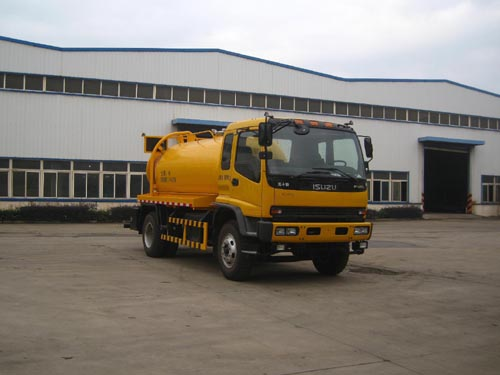 8000l ISUZU FVR sewer dredging and cleaning vehicle