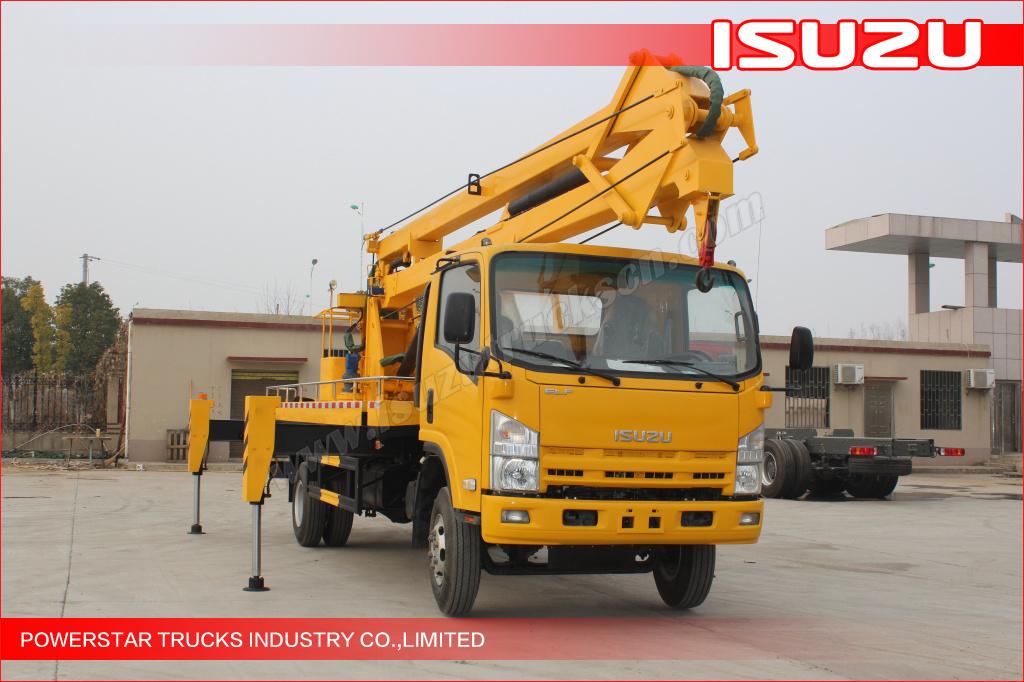 Hot Selling 19m Syria Isuzu Aerial Work Platform Truck ...