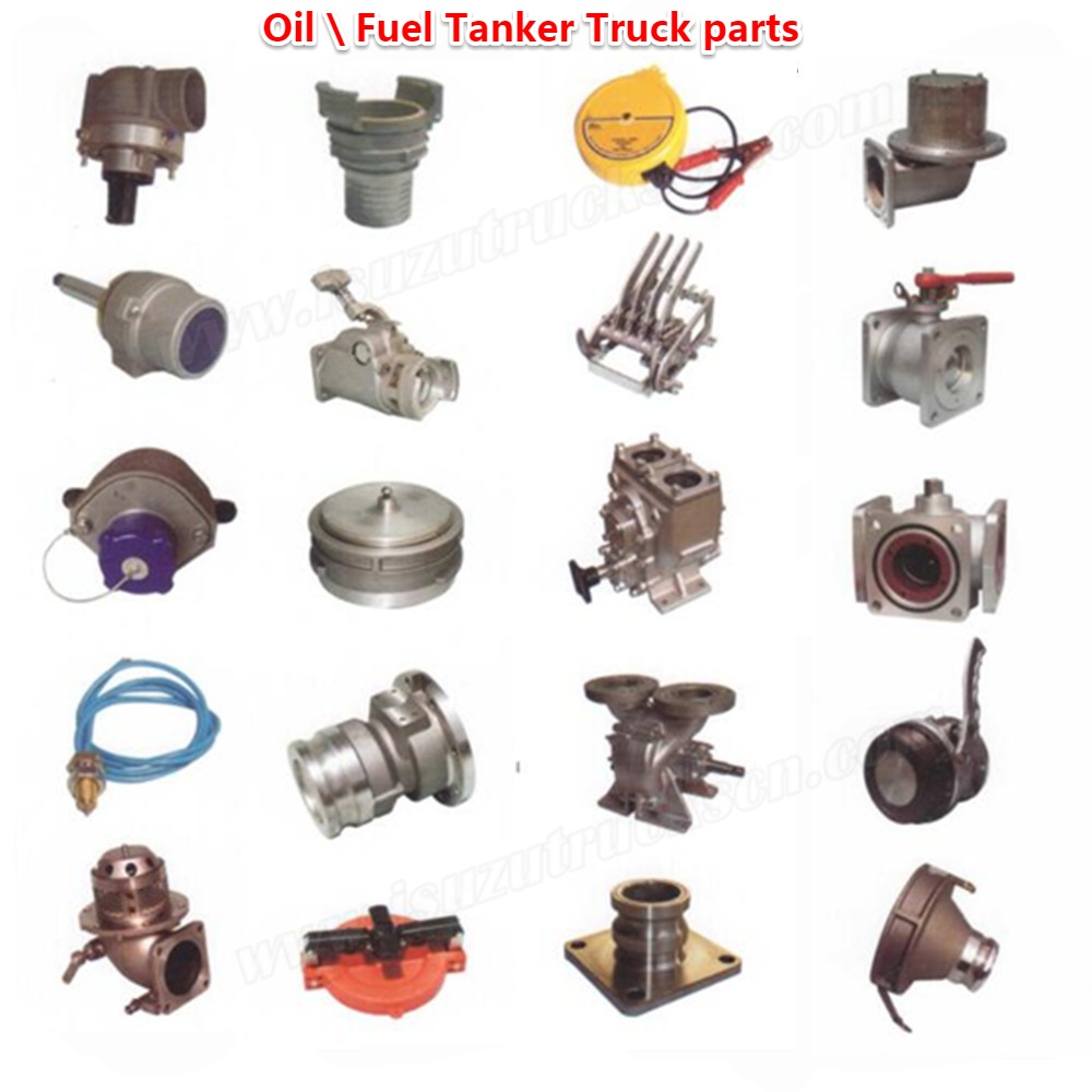 Japanese New Isuzu Oil fuel diesel Tanker truck parts for sale