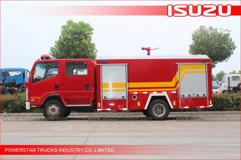 NPR ELF Water Fire truck for Togo