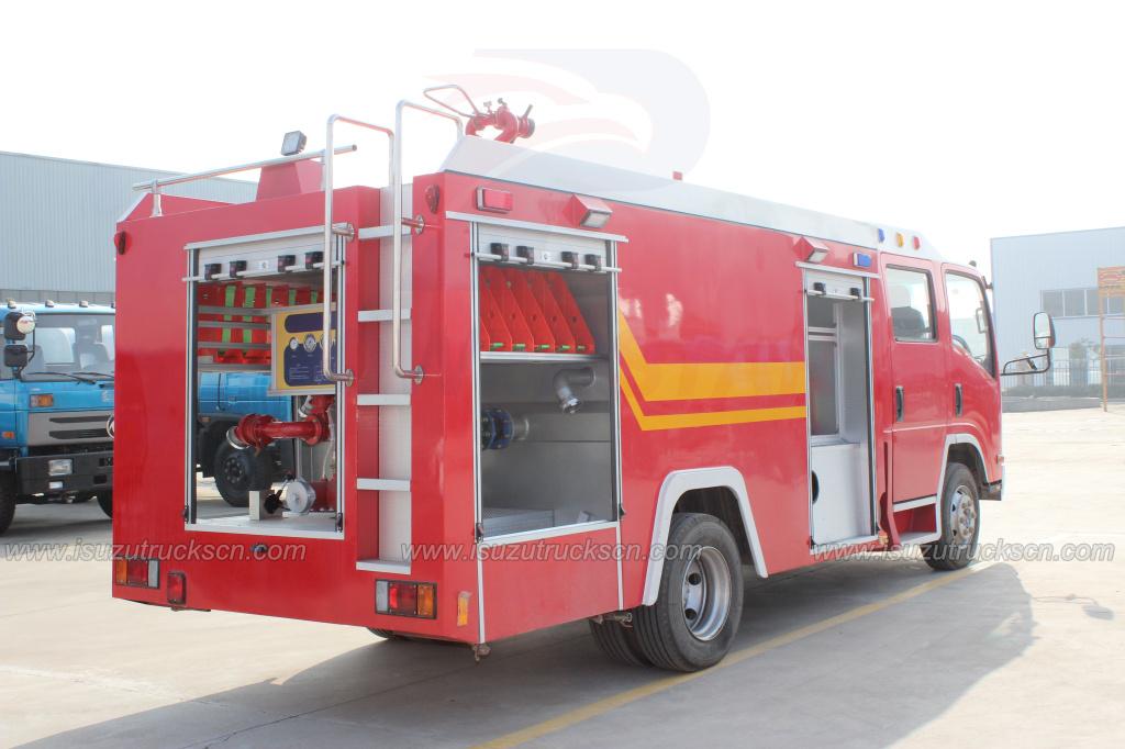 NPR ELF Water Fire Engine Truck to Mongolia