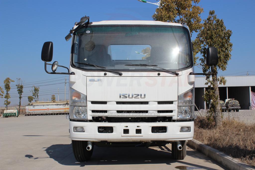 Japanese 7000L 8000L ELF Isuzu watering tanker cart street springkler truck