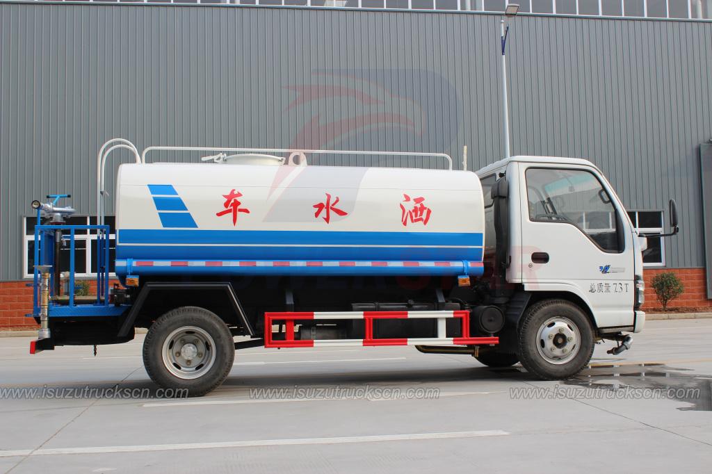 3000L 5000L ISUZU NKR Water Truck Tanker for sale