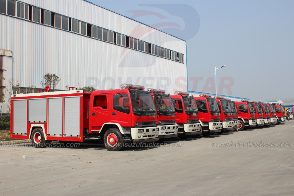 ISUZU FTR foam fire fighting vehicle/fire engine truck