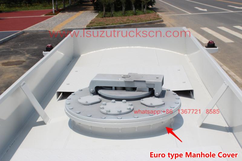 5 cubic meter Fuel tank truck Isuzu