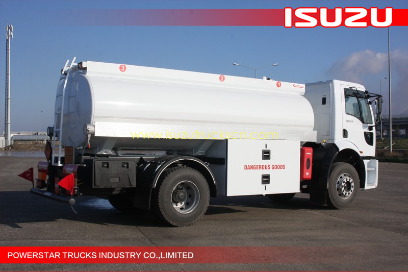 9,000 Isuzu transport Fuel Tanker Truck