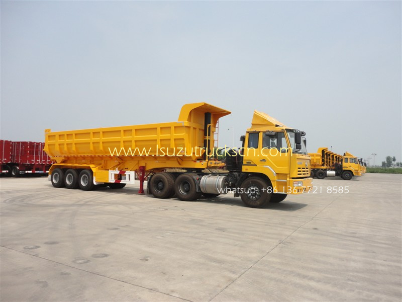 CEEC 40tons rear dumper Semi trailer