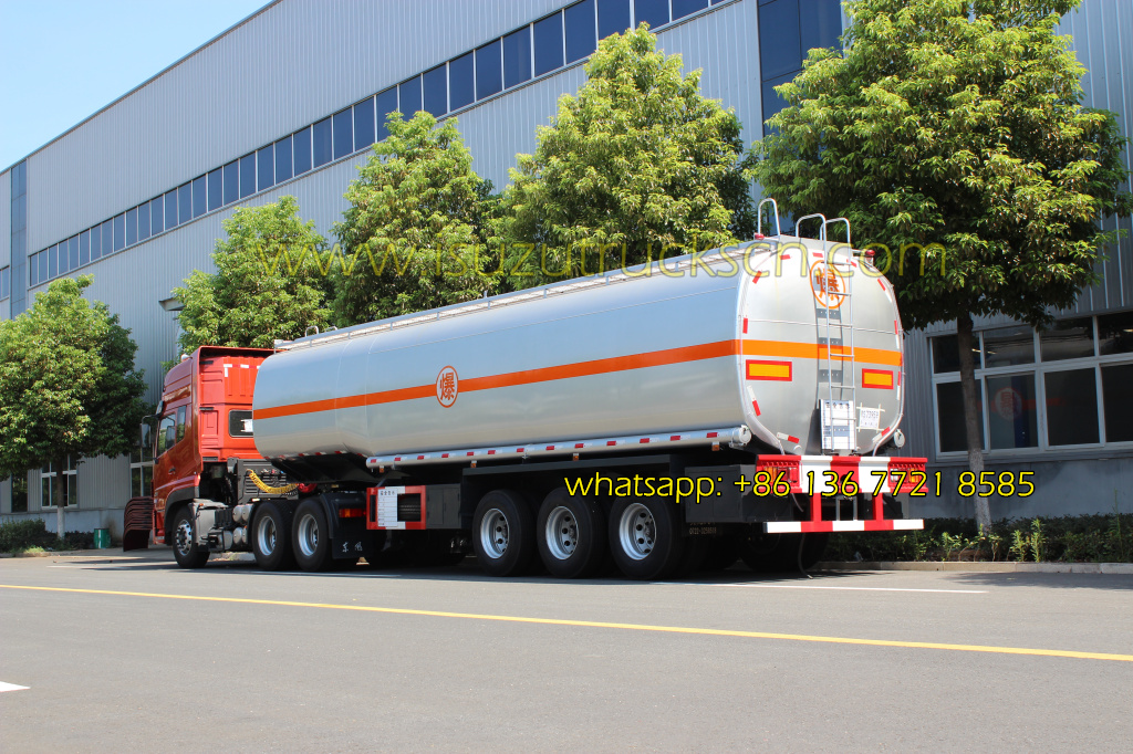 50,000L Oil tanker Transport trailer