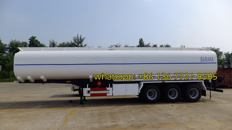 35,000 Litre Fuel Tank Trailer drawing