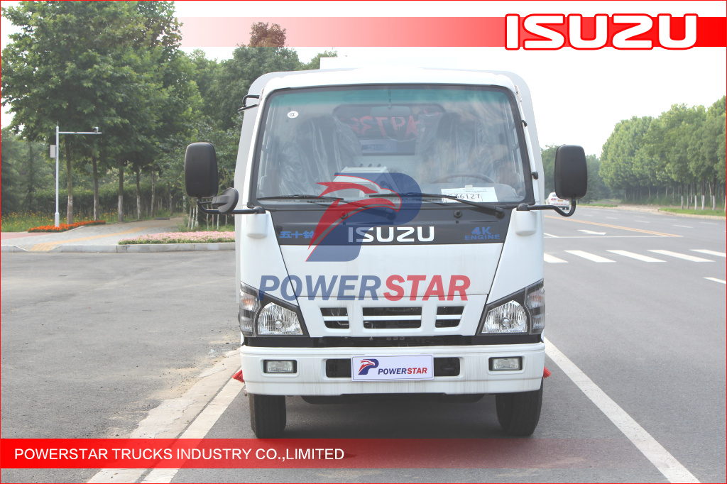 Cheap Price Isuzu 5cbm Vacuum Road Sweeper Truck For Sale