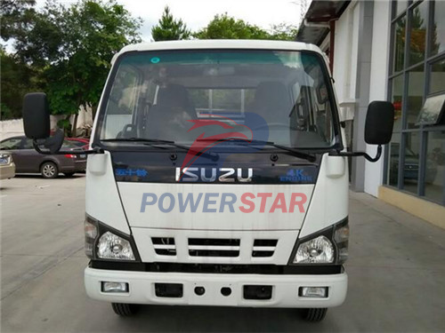 Custom Made Isuzu NKR 4cbm Oil Fuel Tank Truck for Philippines