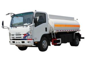 8000L ISUZU NPR refueling tanker trucks