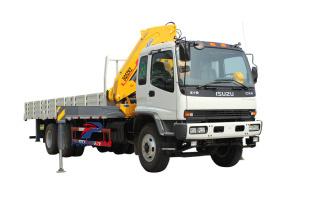 Africa ghana order Isuzu heavy duty truck with crane