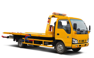 Isuzu 3tons flatbed tow wrecker trucks
