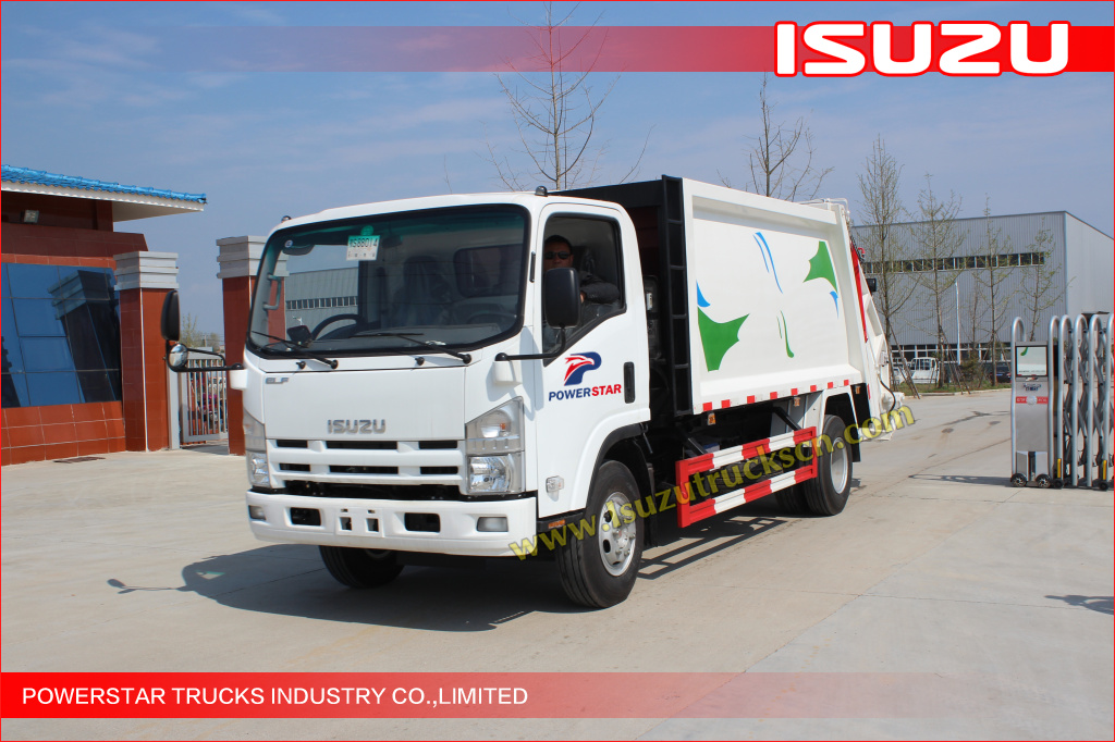 picture of Isuzu NPR Refuse compactor (Garbage compactor truck)