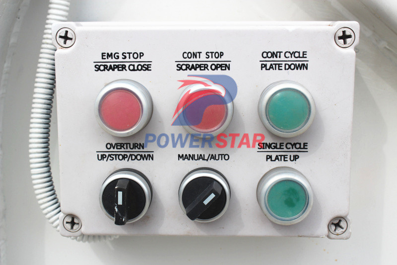 Control panel for Isuzu refuse compactor garbage trucks