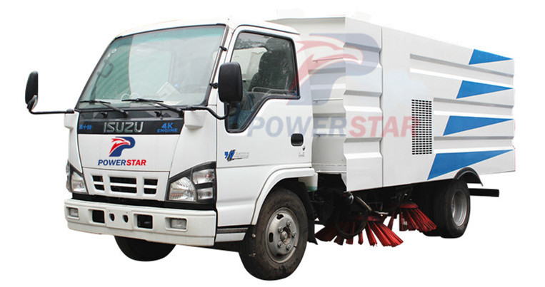 Hot Selling Road Sweeper Truck Isuzu In China Powerstar Trucks
