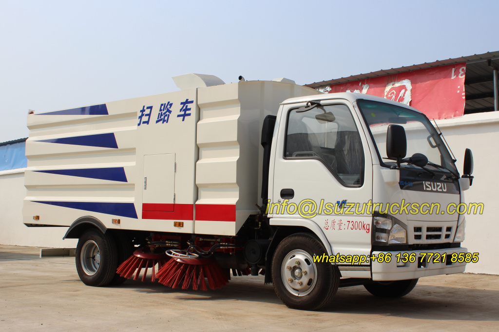 Road Sweeper Truck Isuzu overview pictures