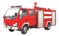 Water Fire Vehicle Isuzu