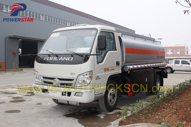 Refuel Tanker Truck FOTON FORLAND (4,000 Liters) detail spections pictures