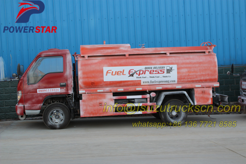 Customer made FOTON Forland Fuel delivery tank trucks